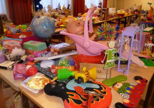 Speelgoedbank Waalwijk verkoopt spullen voor maximaal 1 euro