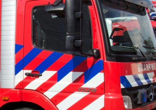 Schoorsteenbrand in Kaatsheuvel trekt veel bekijks