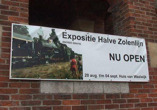 Halve Zolenlijn Expositie in Waalwijk