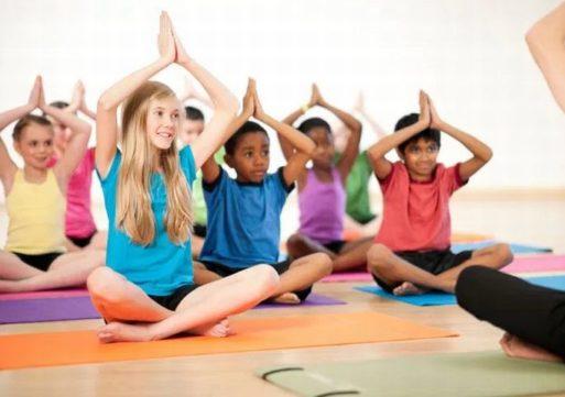 Yoga voor kinderen bij Inloophuis TOON