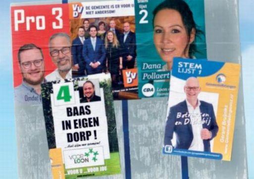 De politieke partijen in de gemeente Loon op Zand